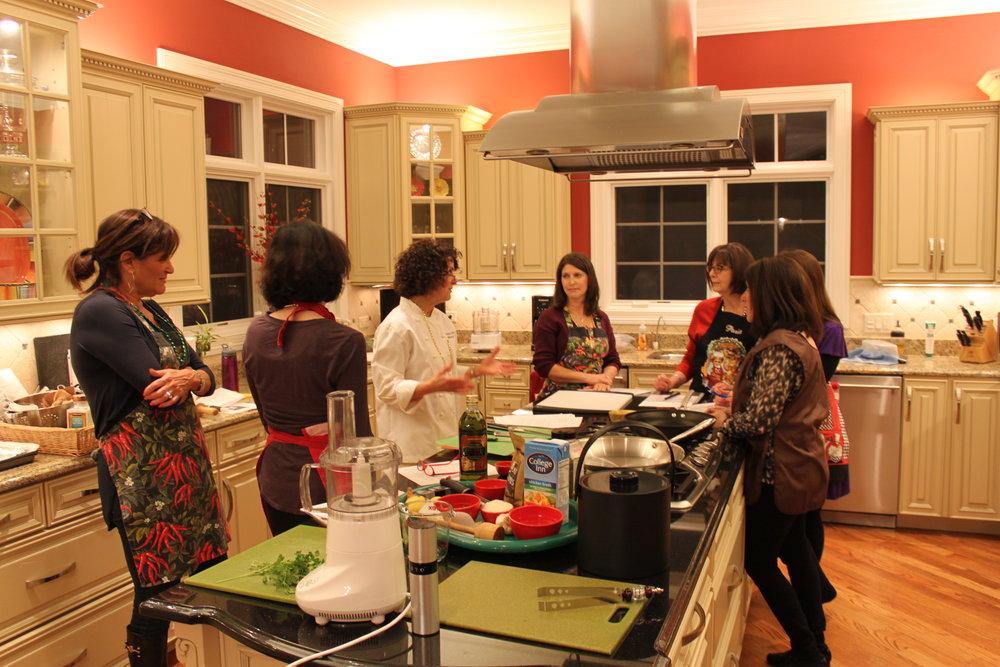 Anita Brown Culinary Coach - Girl's Night In