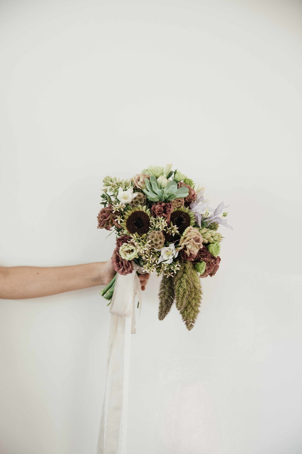 Lovely bouquet from Allium by Olympia