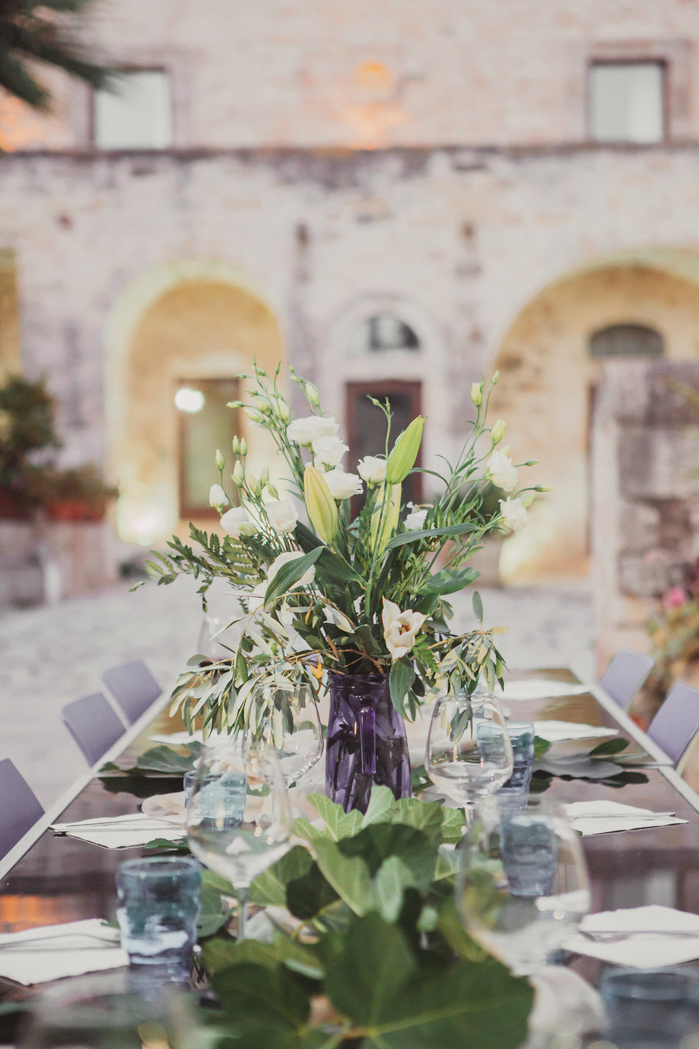 One of our many gorgeous styled dinners by Travellur