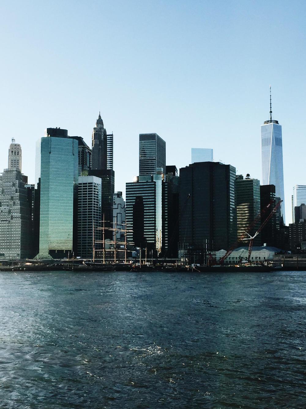 arushi khosla, arushi.co, dumbo, brooklyn, new york city skyline