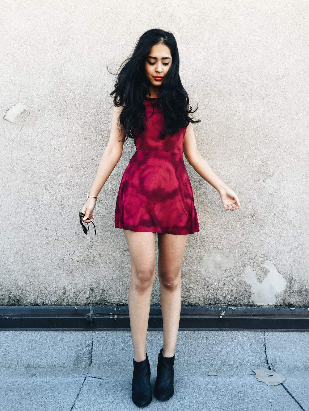 arushi khosla, arushi.co, rvca, skater dress, williamsburg, new york