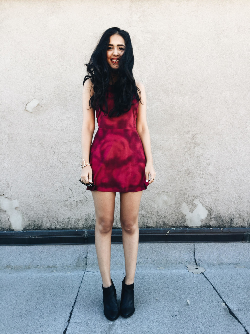 arushi khosla, arushi.co, rvca, skater dress, williamsburg, greenpoint, new york