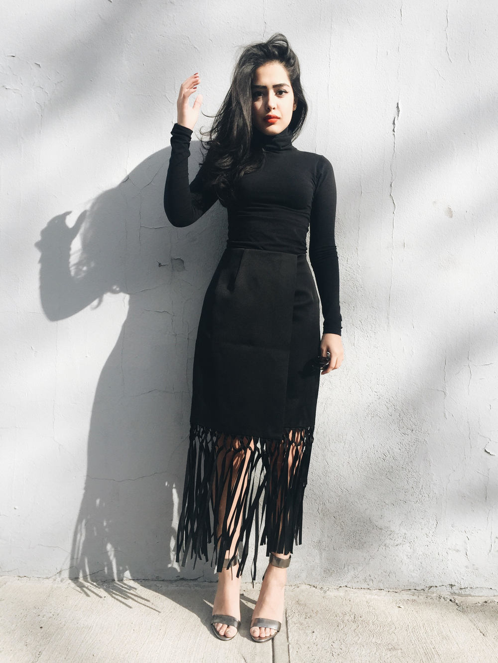 arushi khosla, arushi.co, finders keepers the label, american apparel, all black outfits, williamsburg