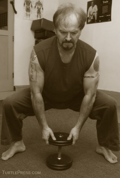 Dumbbell Squats are a safer way to increase leg strength