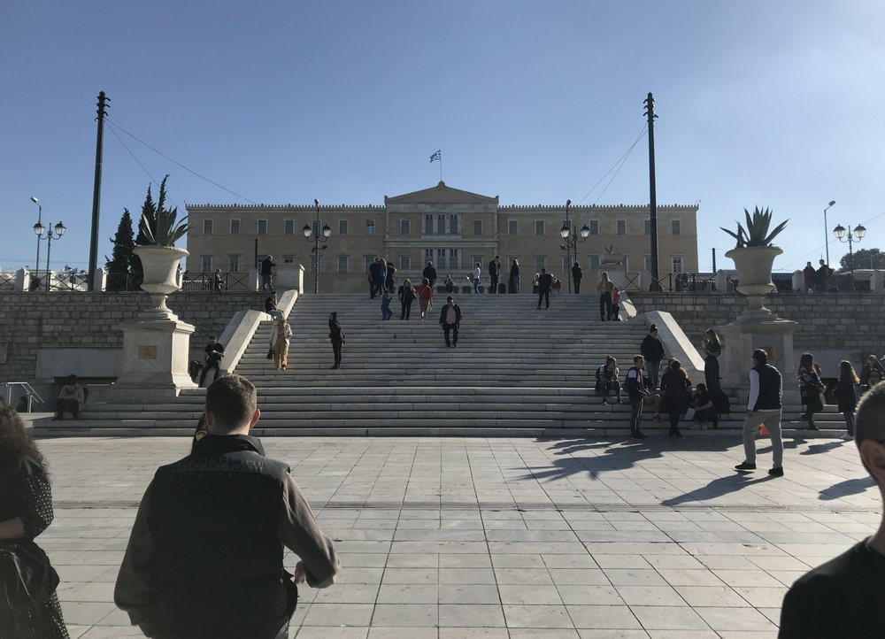 HELLENIC PARLIAMENT HOUSE, SYNTAGMA SQUARE, SATURDAY 27/10/18