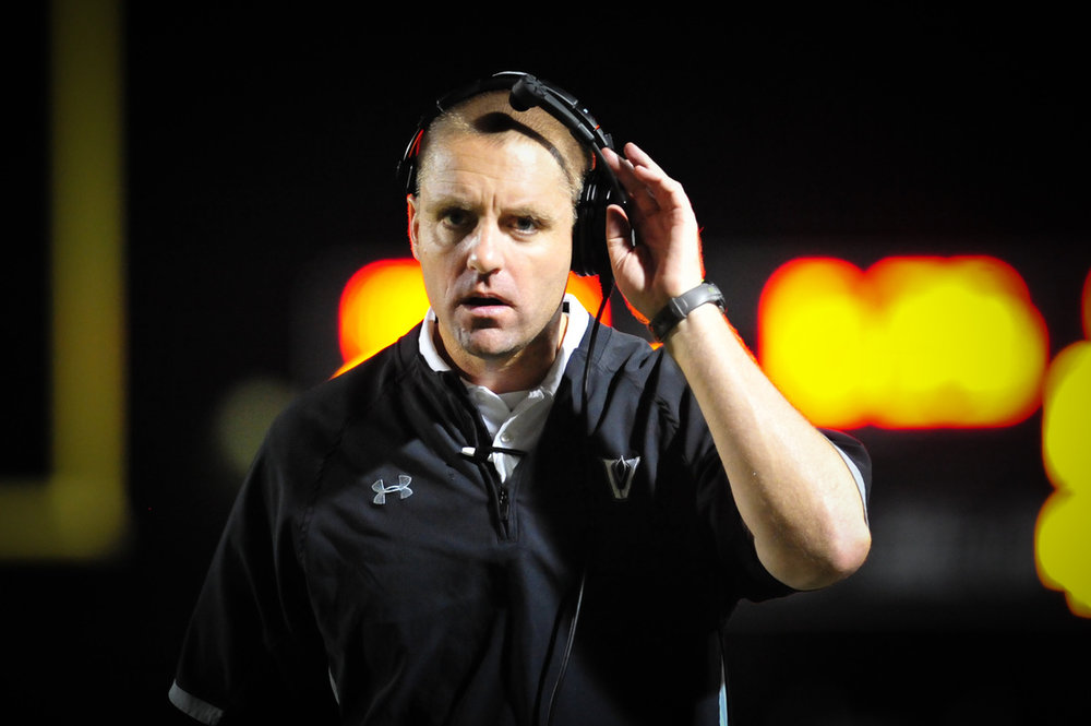 Vandegrift Head Coach Drew Sanders