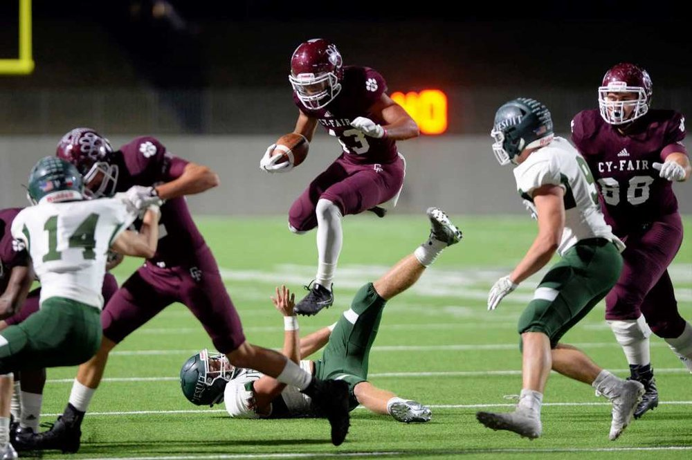 Cy-Fair Senior Running Back Trenton Kennedy