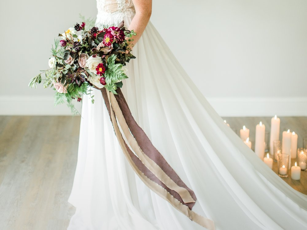 Amazing bouquet by   Emily Kennedy of  Kennedy Occasions , photography by  Sarah Sidwell Photography ,   styling by jennifer of {feather + oak}