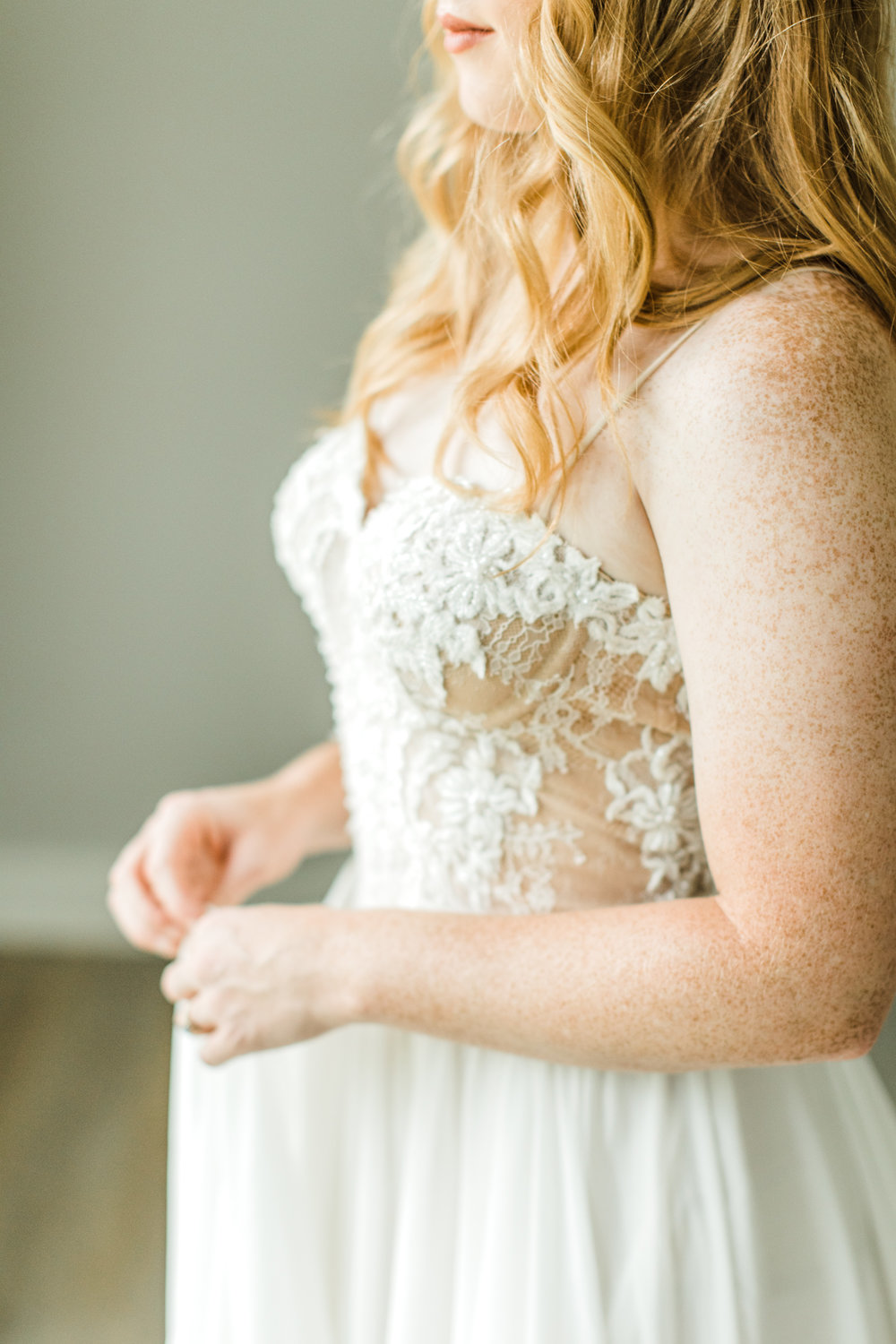 Dress from LVD Bridal, photography by Sarah Sidwell Photography, styling by jennifer of {feather + oak}.