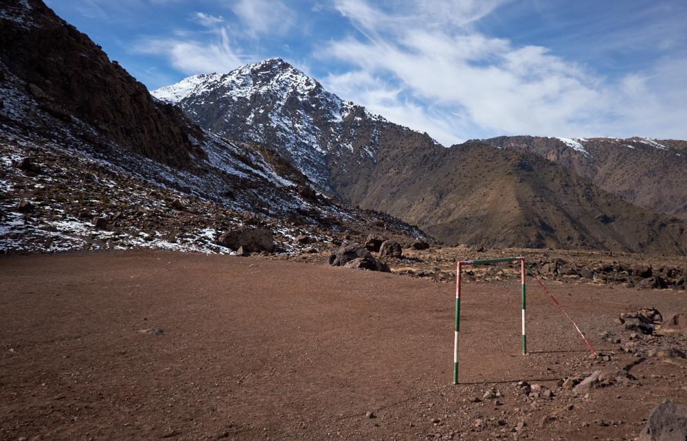 Football Pitch, Atlas Mountains.