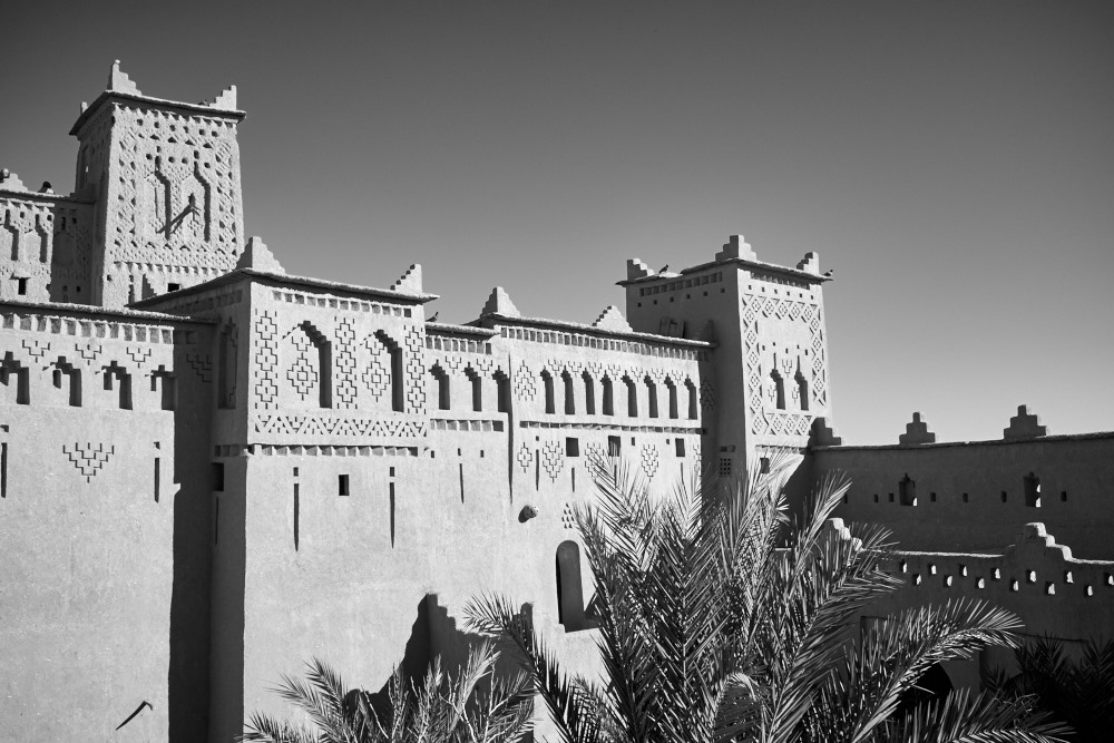 Kasbah at Skoura, Morocco