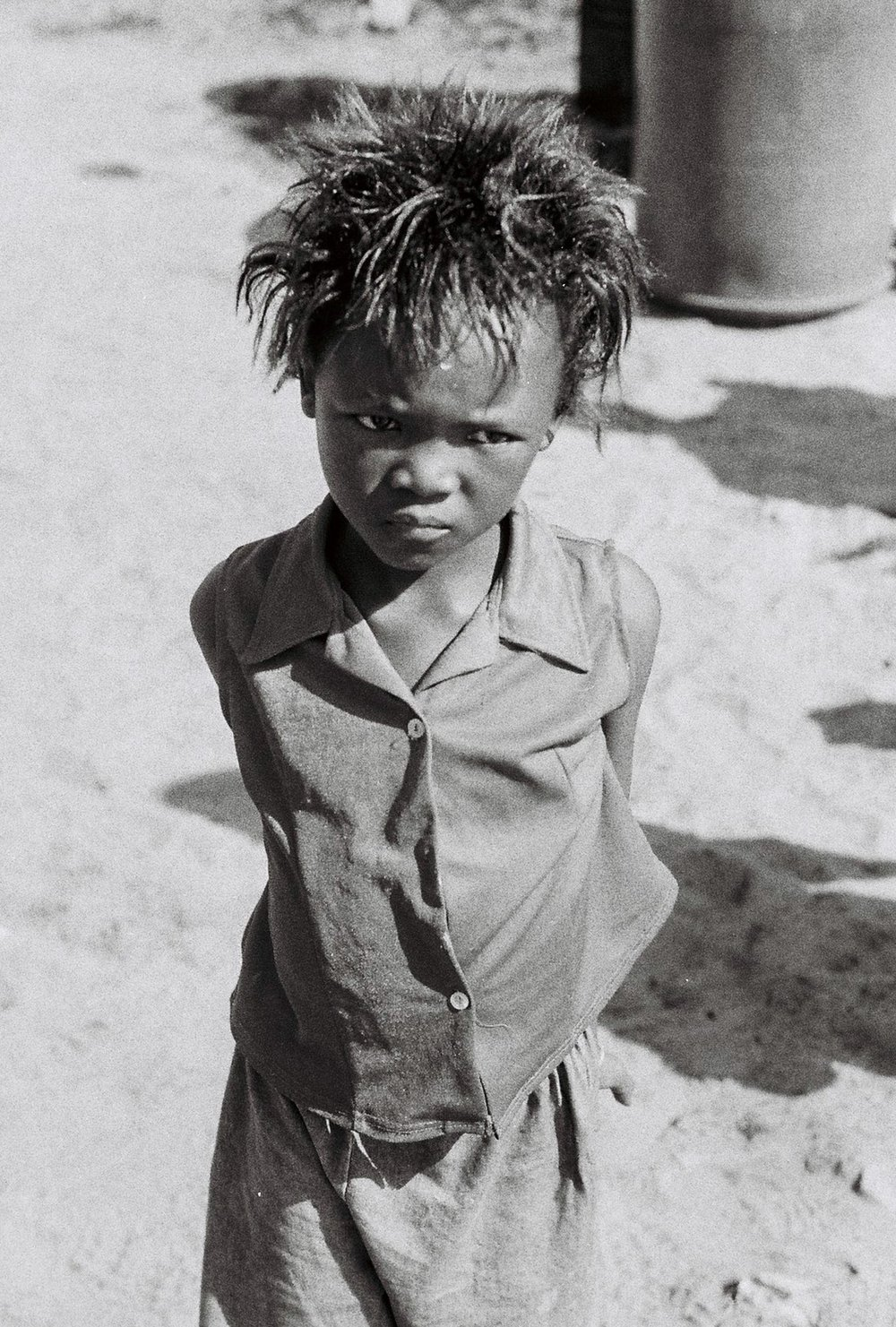 Young Girl, Khayelitsha, South Africa, 2008