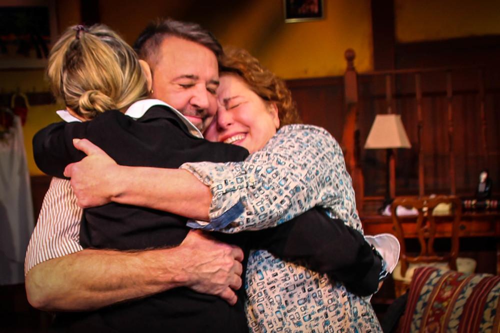 Jodi Stevens, Jim Schilling and Cynthia Hannah