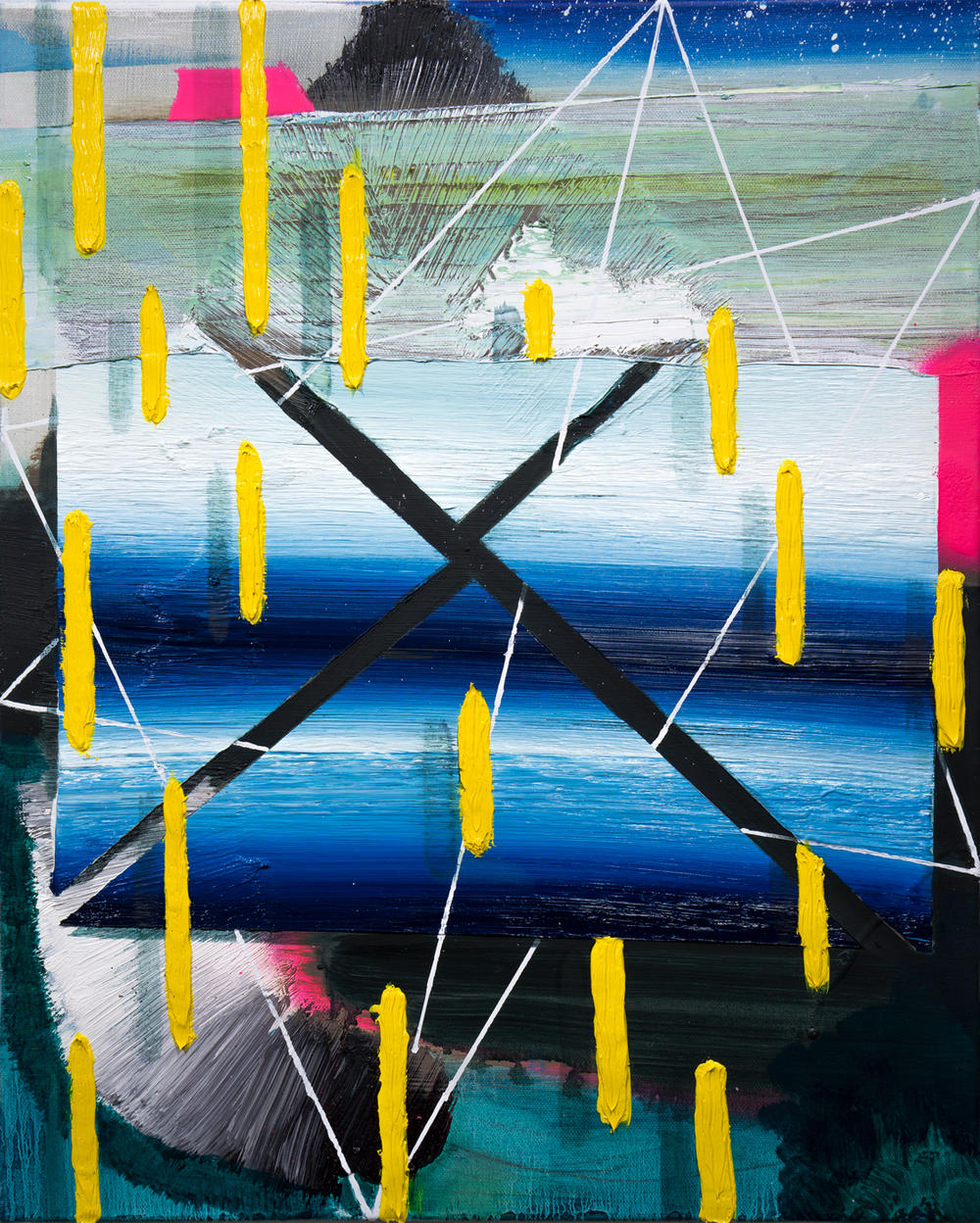 "2015             20""x16""                Oil on canvas"