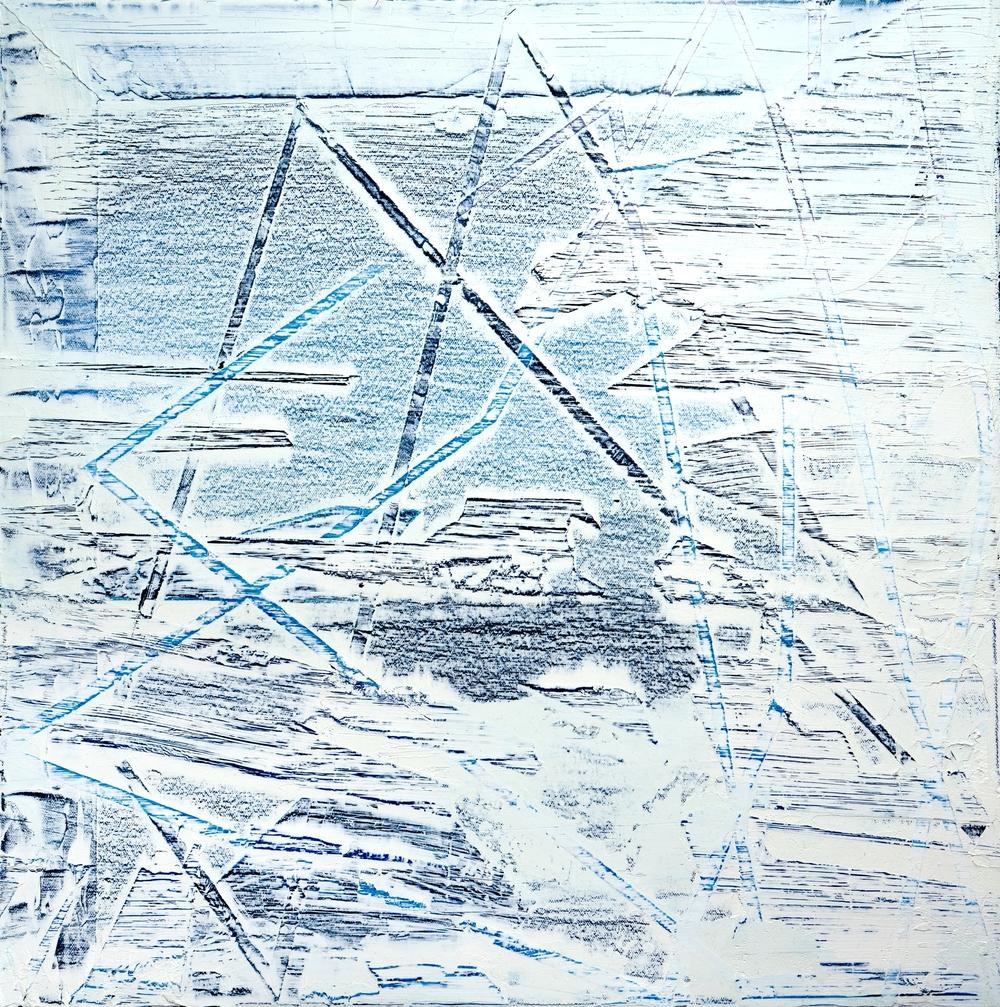 "2015              18""x18""                Oil on canvas."