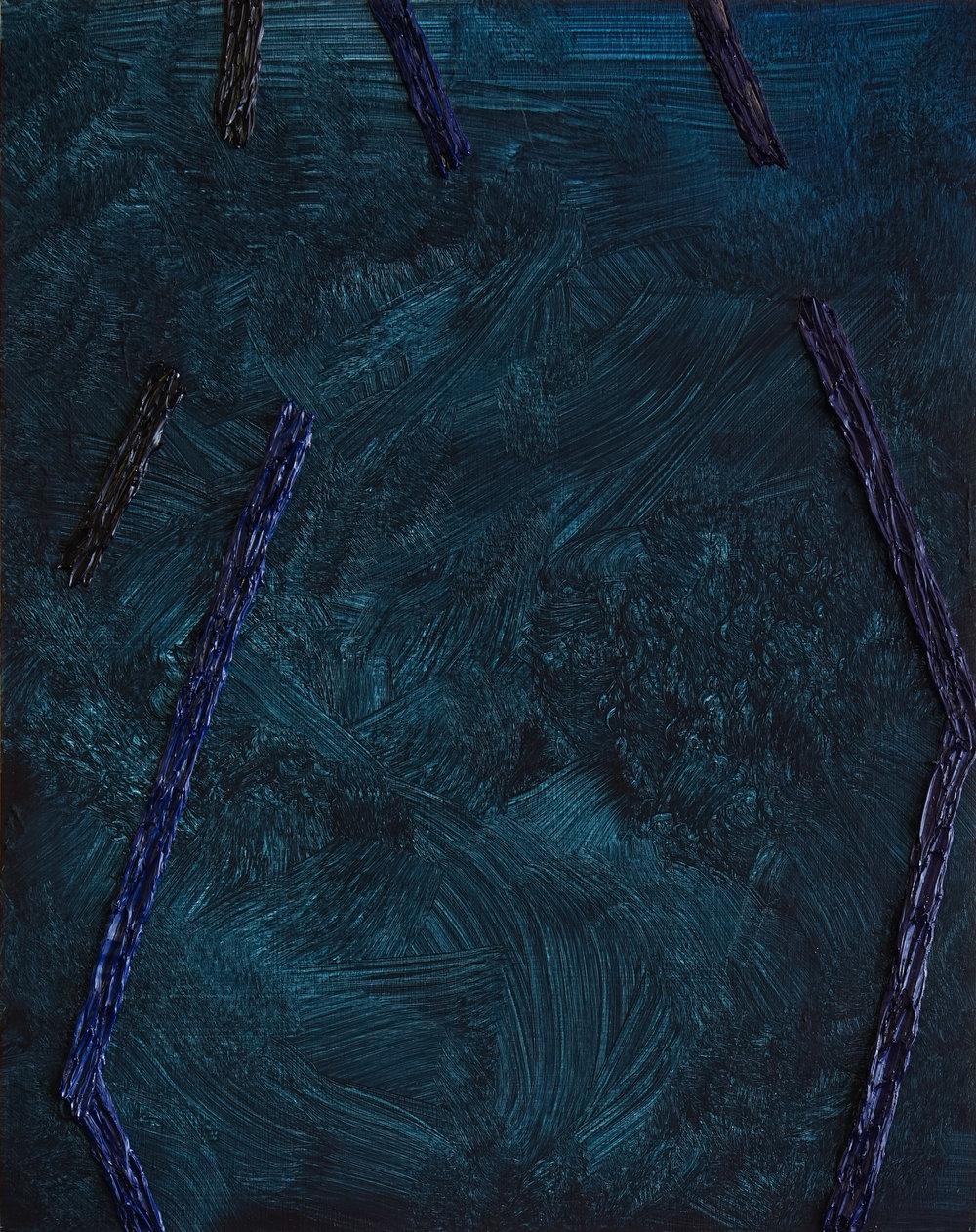 "2016              14""x11""                Oil on Panel"