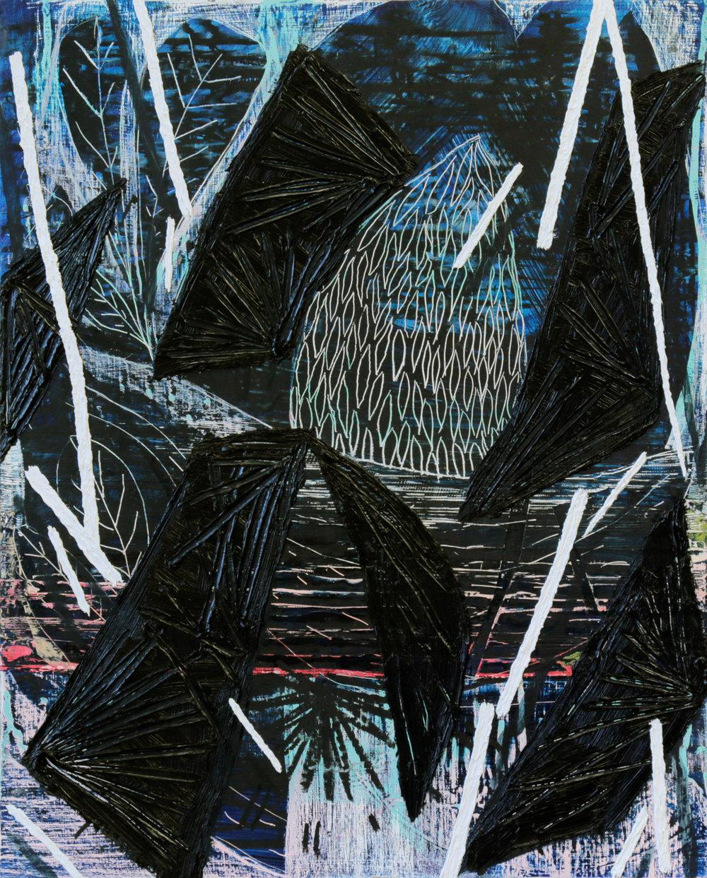 "2016             20""x16""                Oil on Panel"