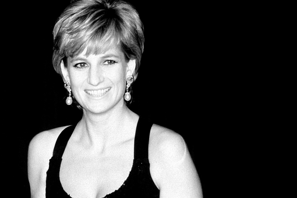 PRINCESS DIANA AT HILTON HOTEL, NEW YORK 12-12-1995