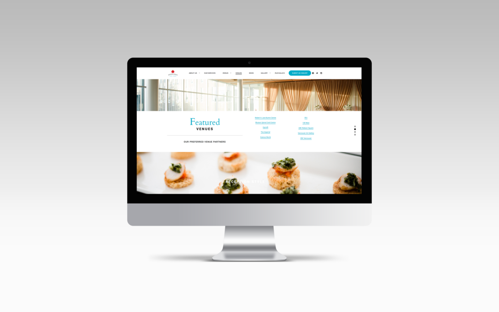 Featured Venues page