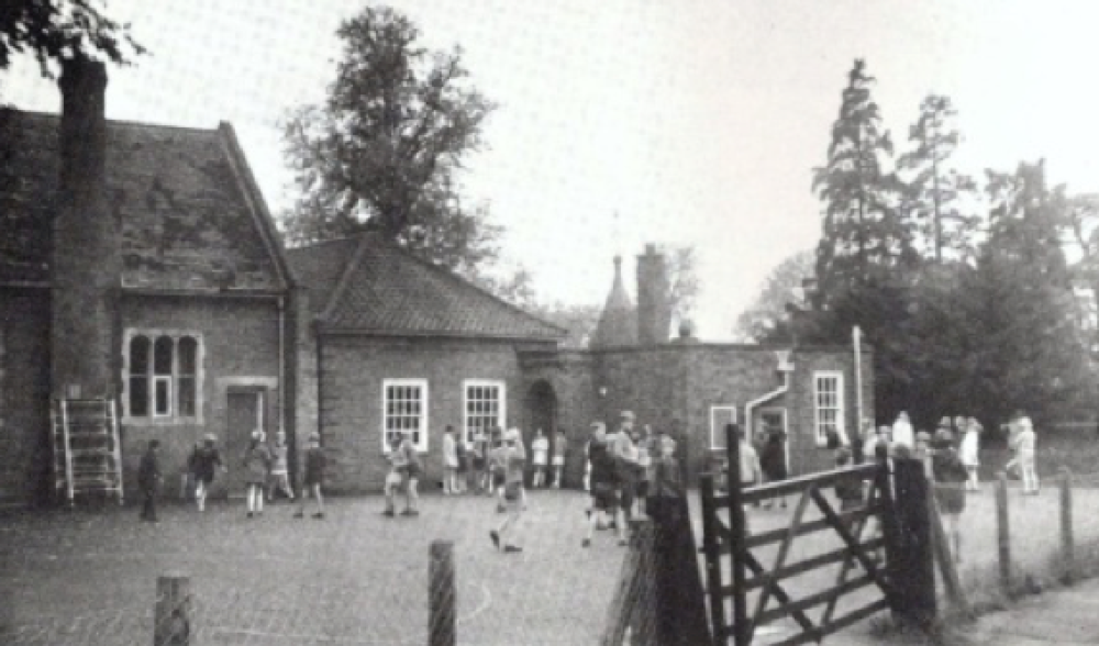 The Old School photographed by R. Wilbraham