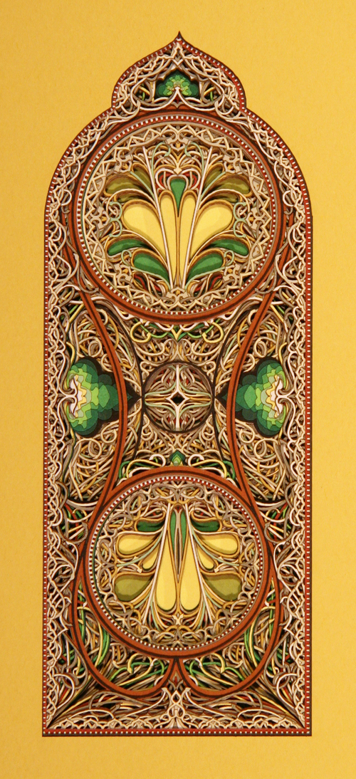 Eric Standley - Beautiful laser cut paper art eric standley