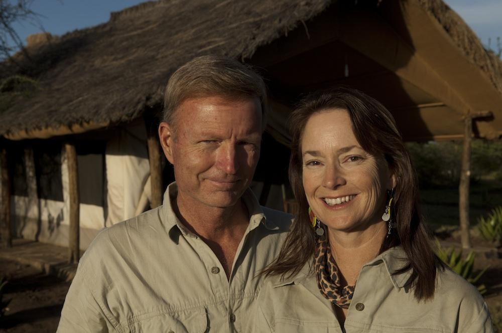 Jonathan & Roseann Hanson, Serengeti, Tanzania. For Jonathan's bio, click   here  ; for Roseann's bio, click   here  ; & for our   Portfolios   and   Bibliographies