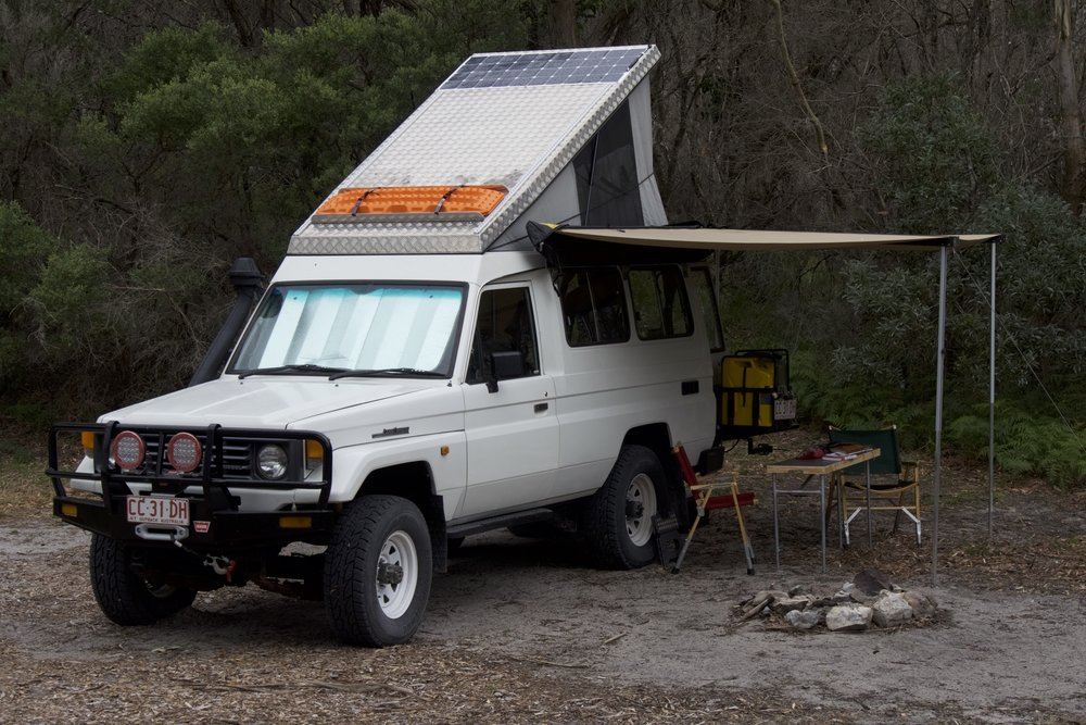 The Troopy Camper Continued Exploring Overland