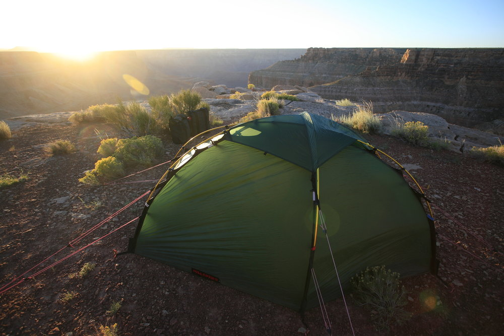 This Hilleberg is a good tent.