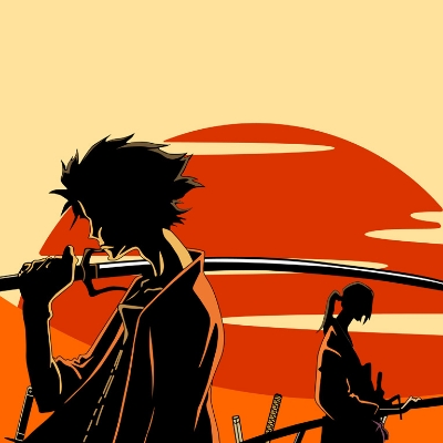 © Manglobe, you can find Samurai Champloo on Netflix