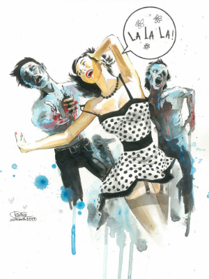© 'Zombie Love' by Lora Zombie