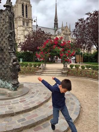 le saut Notre Dame