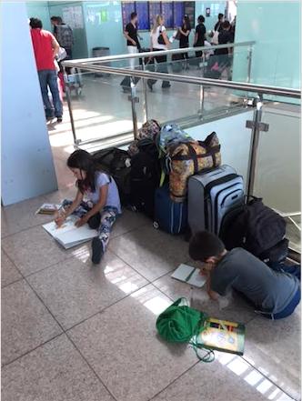 la espera (Aeropuerto de Barcelona)