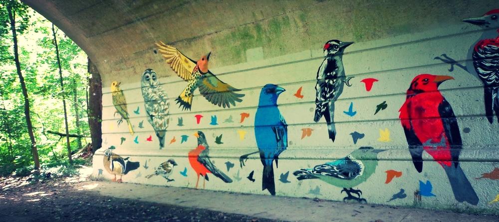 Glen Echo Bird Mural