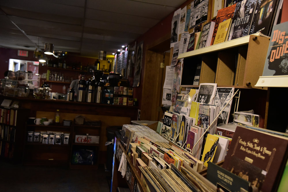 Quintessential college coffee shop/bar with a collection of records and books. 2250 North High Street, Columbus, OH 43201 Map & Info