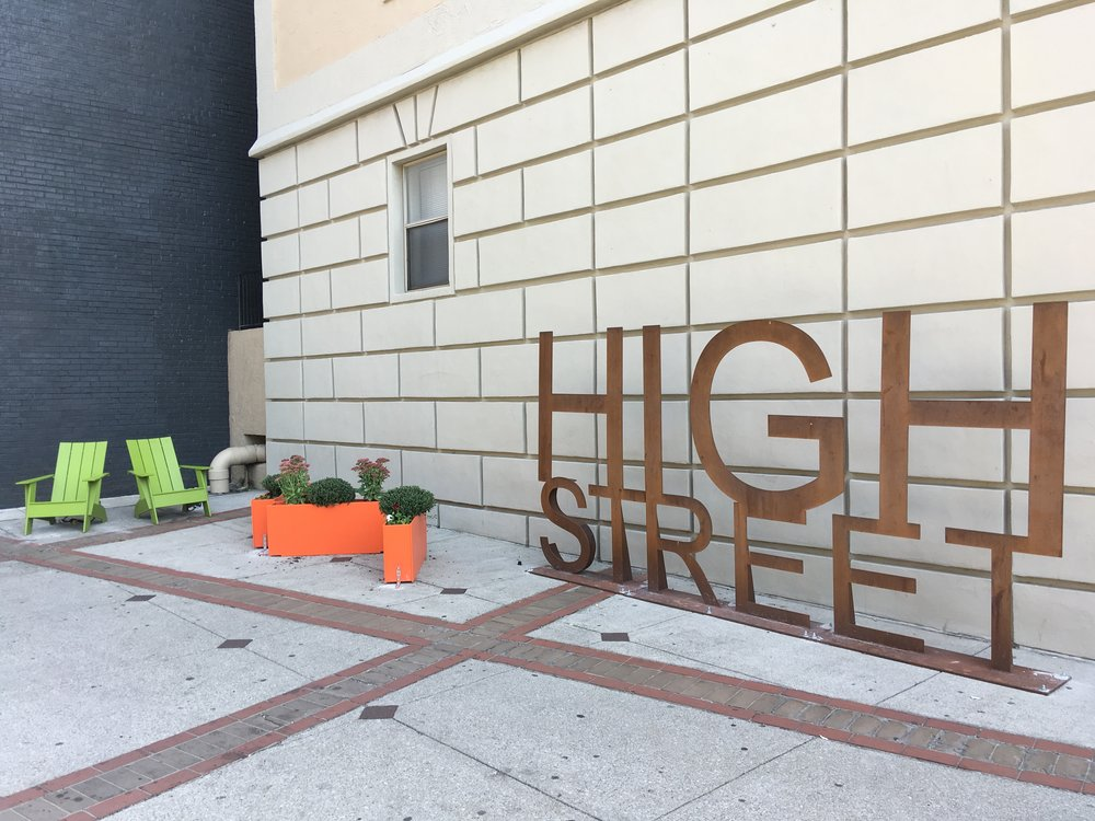 High Street Sign - 2060 N High StreetDesigner: @cbusndc