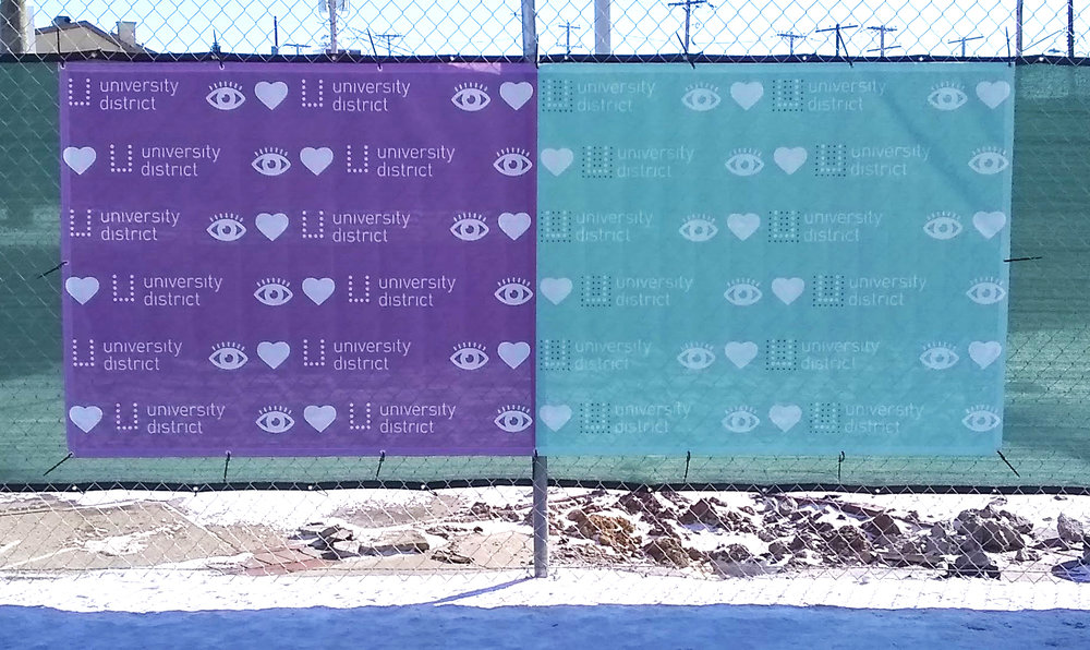 I Heart U Banner - N High Street & 15th AvenueDesigner: @cbusndc