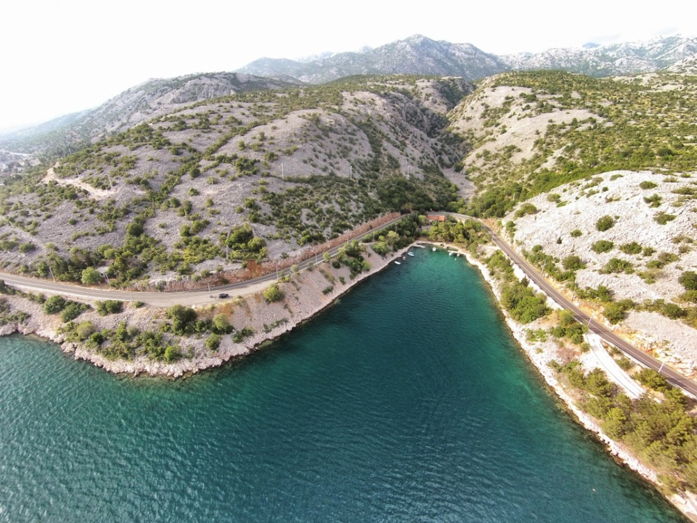 The E65 / A8 down Croatia. Another excuse to play with the drone.