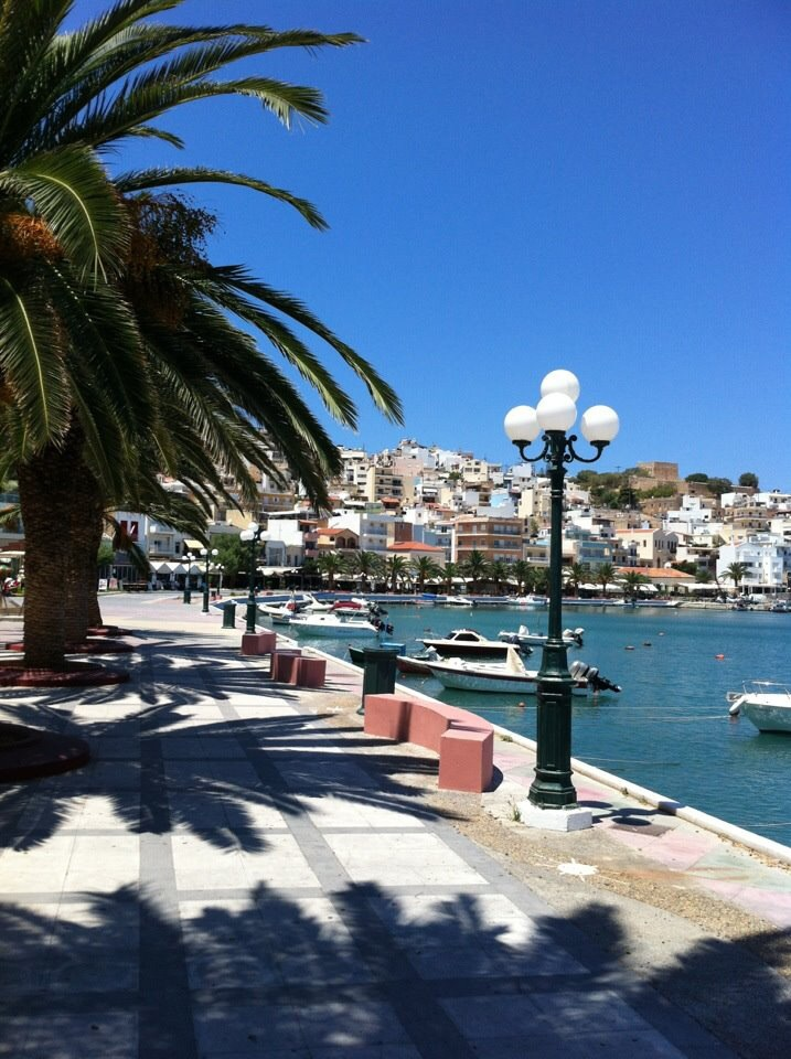 Sitia, Crete. The final destination. If you don't count the drive back again.