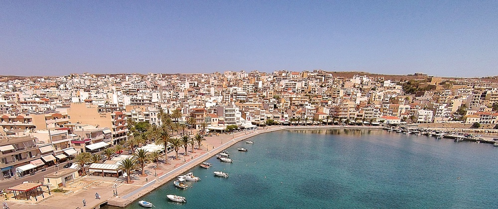 Sitia, Crete. Playing with the drone again.