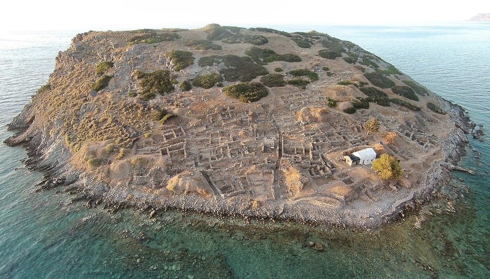 The Minoan excavations at Mochlos. I flew over there in a fit of jealousy!