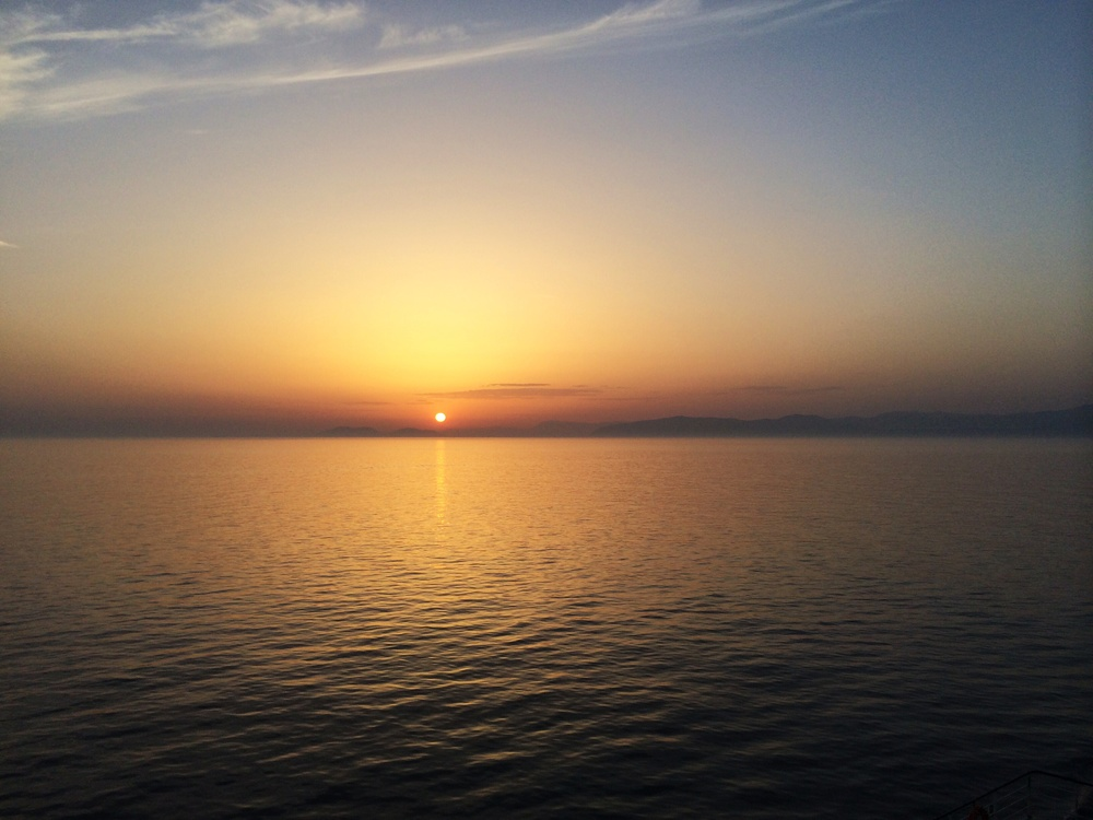Sunrise on the Adriatic