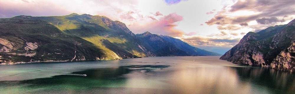 Lake Garda from the drone