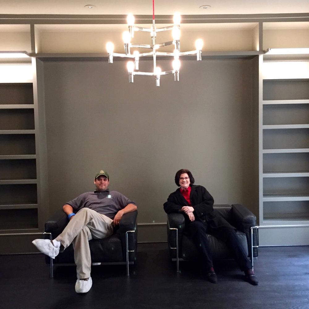 ShawnA,Stuart Grubb,  SGP Construction LeCorbusier LC3 armchair by  Cassina