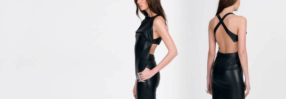 WALDMANN Leather Harness Dress