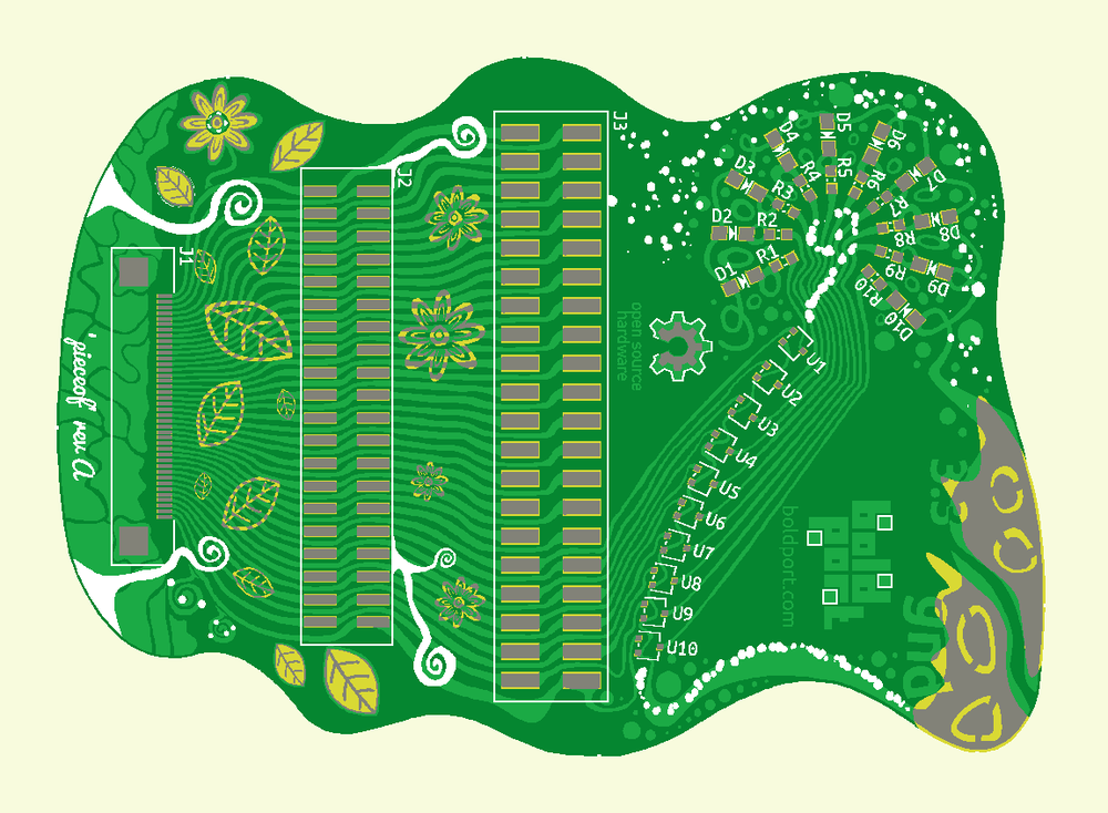 Images from PCB manufacturer — Boldport