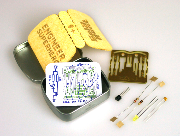 The 'Tiny Engineer Superhero Emergency Kit' ·  Article  ·  Gallery