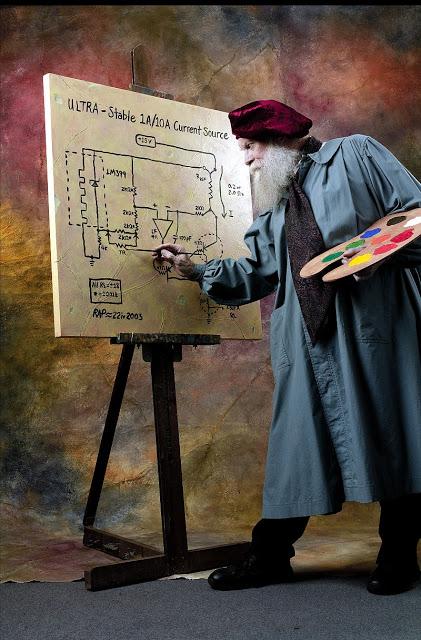 An engineer and an artist?!