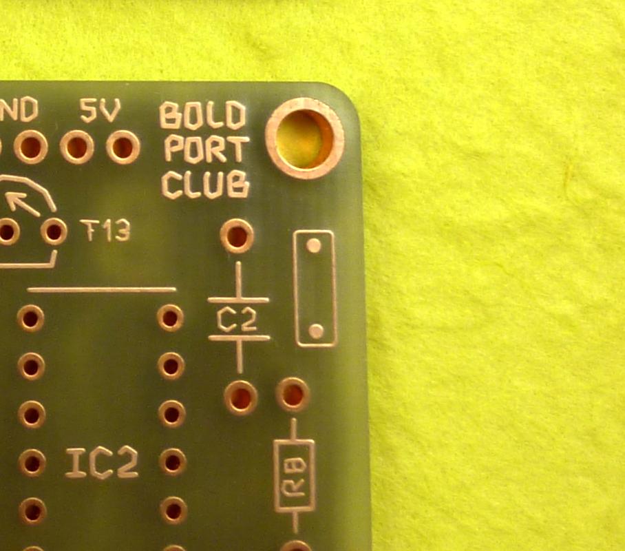 Symbol on the solder side