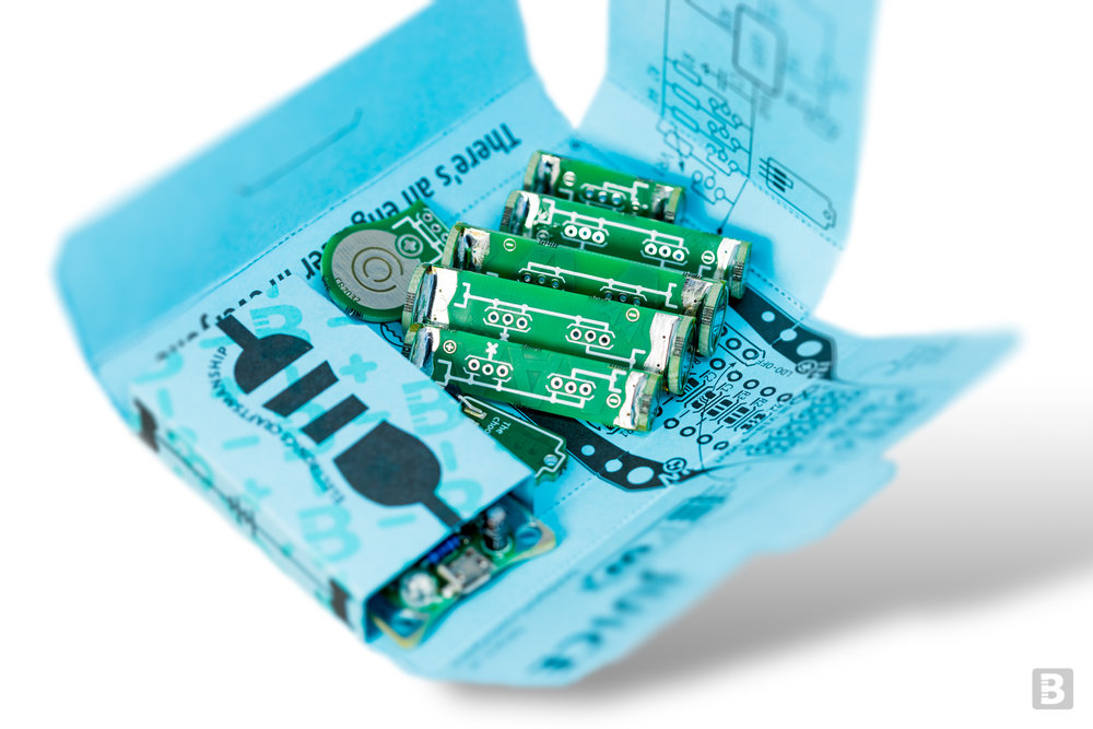 Juice, a Boldport Club project featuring a TI component