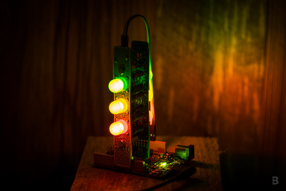 The Cordwood Puzzle can be connected to a controller board (like an Arduino) to control each LED